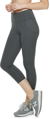 Tek Gear Women's High-Waisted Shapewear Capri Leggings