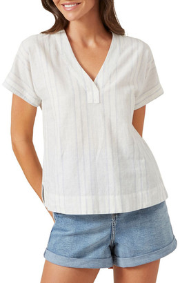 French Connection V Neck Tunic