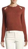 Isabel Marant Klee Cutout Crewneck Sweater