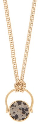Isabel Marant Stone Pendant Necklace - Womens - Gold