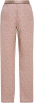 Fleur Du Mal Pink Silk Pajama Pants