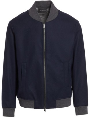 Saks Fifth Avenue COLLECTION Wool-Blend Bomber Jacket
