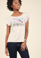 Here and Howl T-Shirt in XS