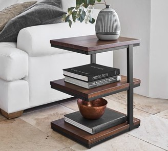 "Pottery Barn Allen 19"" Tiered End Table"