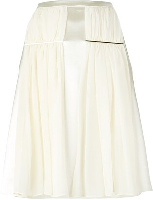 Christopher Kane Ruched Detail Skirt