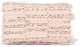Oscar de la Renta Embellished Georgette Clutch - Pink