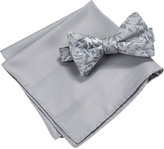 Countess Mara Men's Lyons Floral Bow Tie & Pocket Square Set