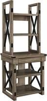 Altra Furniture Altra Wildwood Wood Veneer Audio Stand/Bookshelf