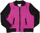 Design History Quilted Jacket (Toddler/Kid) - Shocking Fuchsia-2T