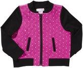 Design History Quilted Jacket (Toddler/Kid) - Shocking Fuchsia-5