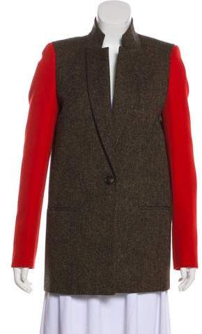 Givenchy Wool Knit Blazer