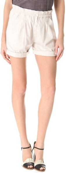 Band Of Outsiders Paper Bag Shorts