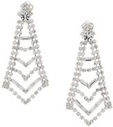Susan Caplan Vintage 1980's chandelier deco-style earrings