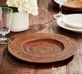 Pottery Barn Tava Round Charger - Honey