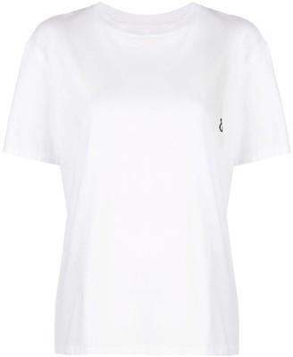 Julien David Over-sized Pixelated Logo T-shirt