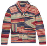Polo Ralph Lauren Shawl-Collar Jacquard Cardigan