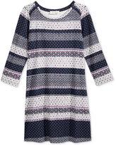 Jessica Simpson Print Dress, Big Girls (7-16)