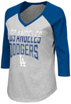 G3 Sports Women's Los Angeles Dodgers Start-Up Raglan T-Shirt