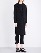 By Malene Birger Nulania single-breasted woven coat