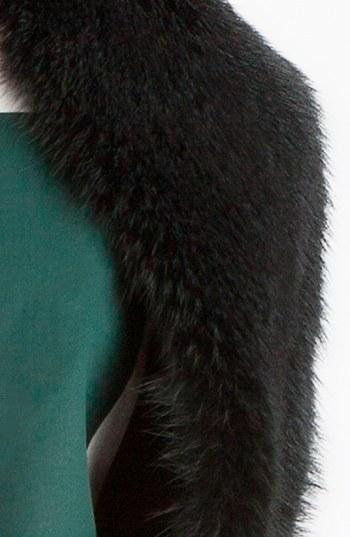 Marni Genuine Grey Fox Fur Scarf