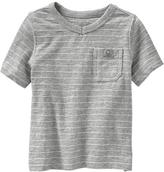 Old Navy Micro-Striped Pocket Tees for Baby