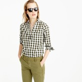 J.Crew Lightweight boy shirt in oversized gingham
