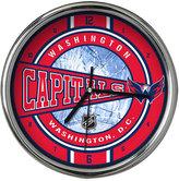 Memory Company Washington Capitals Chrome Clock