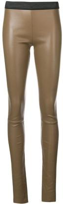 Drome skinny high waisted trousers