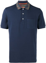 Missoni Multi collar polo shirt - men - Cotton - S