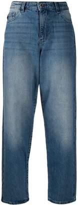 Emporio Armani high waisted boyfriend jeans