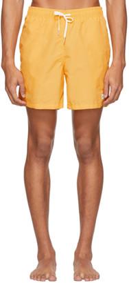 Bather Yellow Solid Swim Shorts