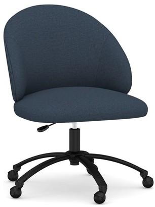 Pottery Barn Ryker Upholstered Swivel Desk Chair
