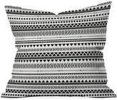 "Deny Designs Allyson Johnson Black and White 16"" Sq. Decorative Pillow"