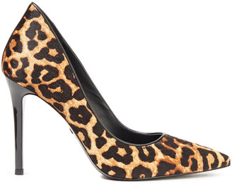 MICHAEL Michael Kors Leopard-print Calf Hair Pumps