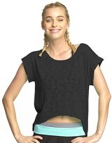 Colosseum Women's Caribbean Burnout Cropped Yoga Tee