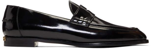 Burberry Black Oban Loafers