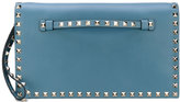 Valentino Garavani Valentino Rockstud clutch - women - Leather/metal - One Size