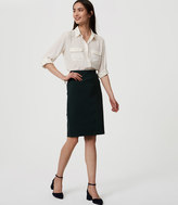 LOFT Tall Pull On Pencil Skirt