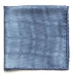 BRUNELLO CUCINELLI Micro polka-dot print silk pocket square