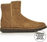 UGG Abree Mini Classic Luxe Lined Ankle Boots