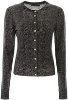 Dolce & Gabbana Chevron Wool Cardigan