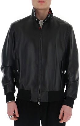 Alexander McQueen Logo Collar Jacket