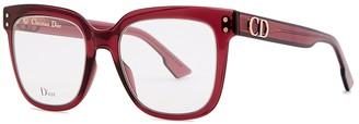 Christian Dior DiorCD1 Wayfarer-style Optical Glasses