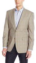 Tommy Hilfiger Men's Wrinkle Resistant Plaid Sport Coat