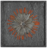 Uttermost Kumara Feathered Shadow Box Wall Art