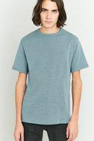 Urban Outfitters Blue Marl Heavy Rib T-shirt