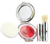 Jill Stuart Blush Blossom Dual Cheek Color (With Brush) - # 06 Little Anemone