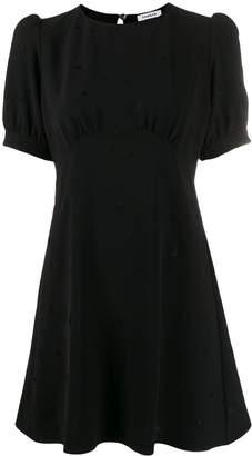 P.A.R.O.S.H. puff sleeve flared mini-dress