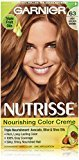 Garnier Nutrisse Nourishing Color Creme, 63 Light Golden Brown (Brown Sugar) (Packaging May Vary)