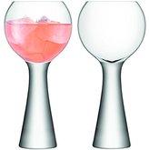 LSA International Moya Balloon Glass, Clear, 550 ml, Set of 2